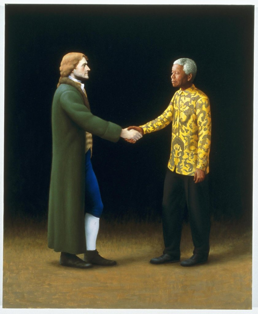 We Hold These Truths to be Self-Evident (Thomas Jefferson and Nelson Mandela)
