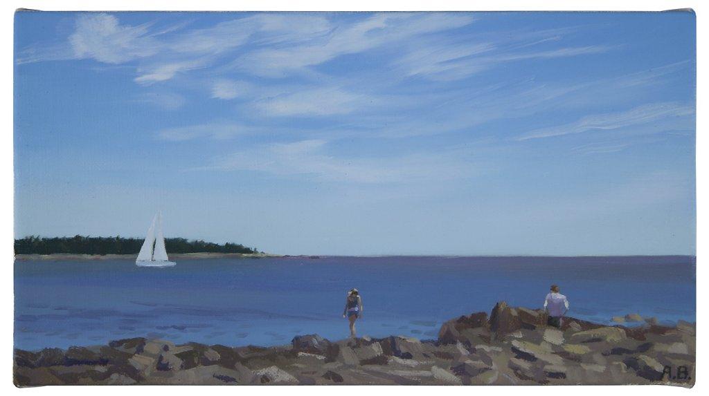 Sea Wall, Acadia