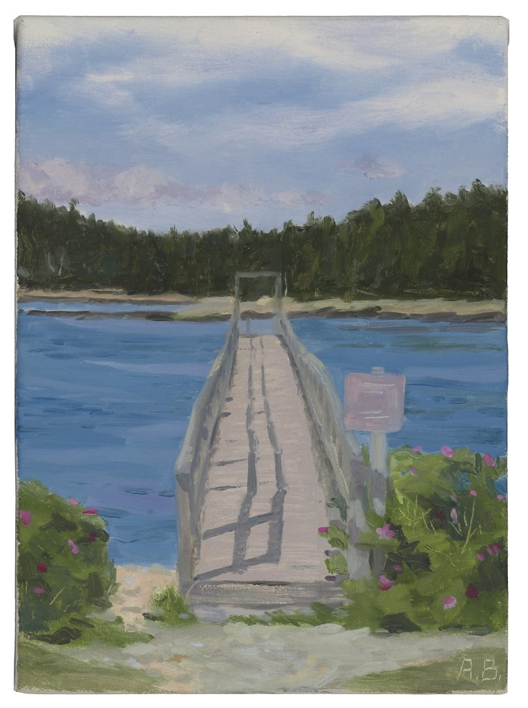 Dock at Frazer's Point, Schoodic, Acadia